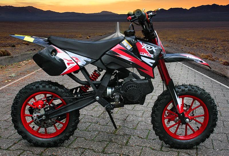 49ccm dirt bike dirtbike 10 zoll reifen coyote pocket bike