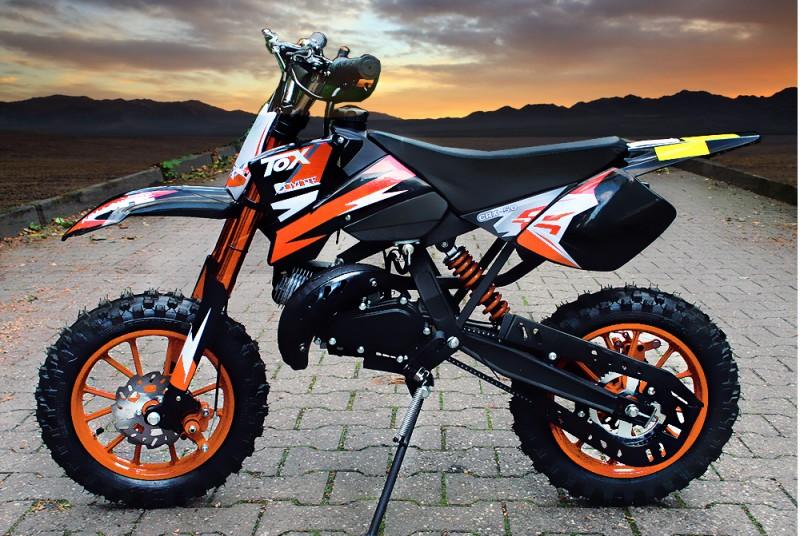 49ccm Dirt Bike Dirtbike 10 Zoll Reifen Coyote – Bild 5