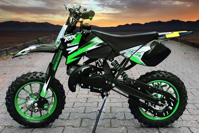 49ccm Dirt Bike Dirtbike 10 Zoll Reifen Coyote