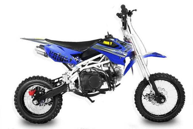SKY - Dirtbike 125cc mit Up-Side Down Gabel