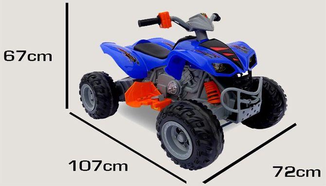 Elektro Kinderquad KL-789 - 2 x 30 Watt Motor