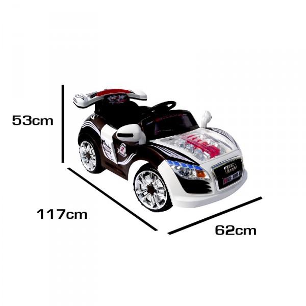 Kinderauto elektrisch Sportwagen Cabrio A-Style  2x30Watt – Bild 3