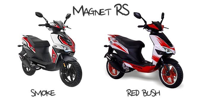 Motowell Magnet RS 50 - 45kmh - 2 Takt Motorroller – Bild 9