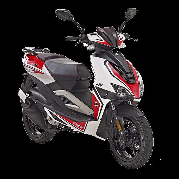 Motorroller 50cc Crogen RS - 2 Takt - 45 km/h von Motowell