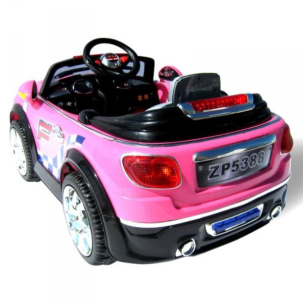 Kinderauto MINI Style für Mädchen 5388 - 2 x 30 Watt Motor