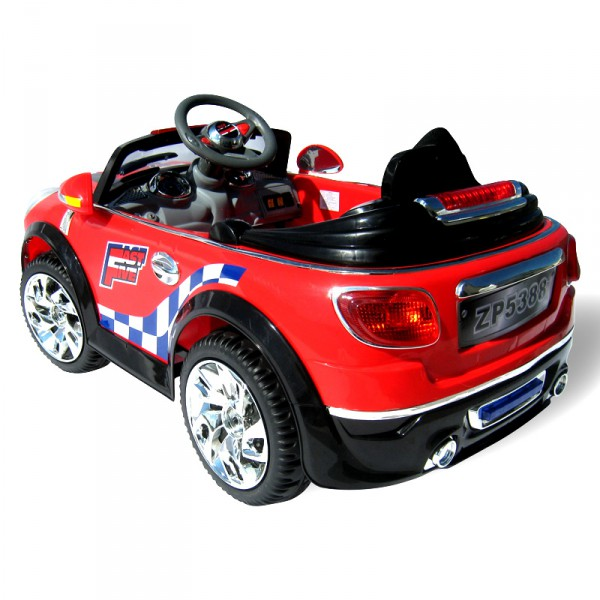kinderauto elektrisch mini style 5388 2 x 30 watt motor. Black Bedroom Furniture Sets. Home Design Ideas