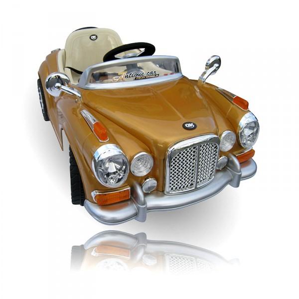 Kinderauto elektrisch Mercedes Oldtimer - 2 x 35 Watt
