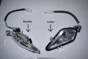 Lampe + Glühbirne - Scheinwerfer komplett für Kinderquad Elektro - Modell Pyton QDO3K