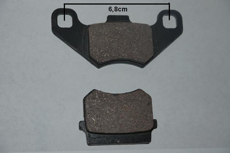 Bremsklötze - Bremsbelag Kinderquad  110 - 125ccm und Maddex 50cc hinten – Bild 1
