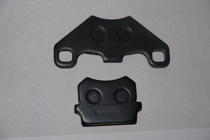 Bremsklötze - Bremsbelag Kinderquad  110 - 125ccm und Maddex 50cc hinten