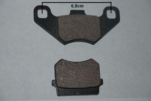 Bremsklötze - Bremsbelag Kinderquad  110 - 125ccm und Maddex 50cc hinten 001