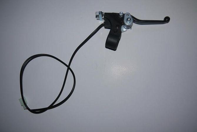 Bremsgriff / Bremshebel rechts + Kontaktschalter für elektro Kinderquads 800W rechts