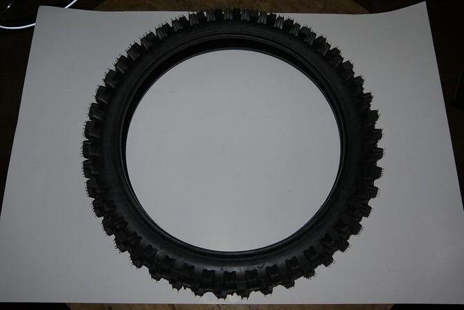 Dirtbike-Reifen 70/100-17 Zoll - Vorne - Offroadprofil Dirtbike 125cc