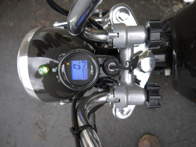 Skyteam ST50-8 50ccm 45 km/h Moped  - Monkey Replikat - Euro 4 Version