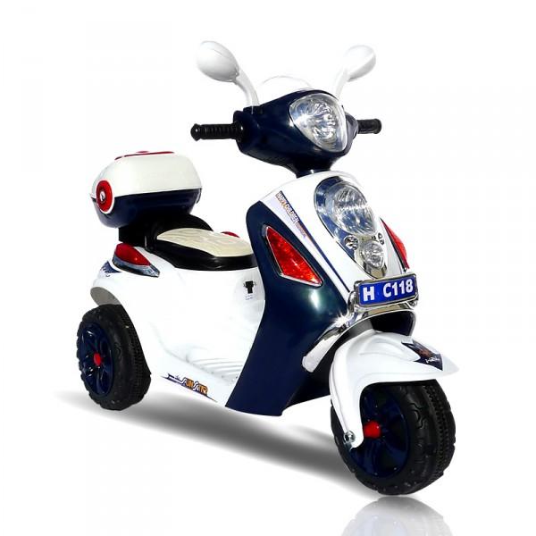 Elektroroller für Kinder - elektrischer Kinderroller Blue Scooty
