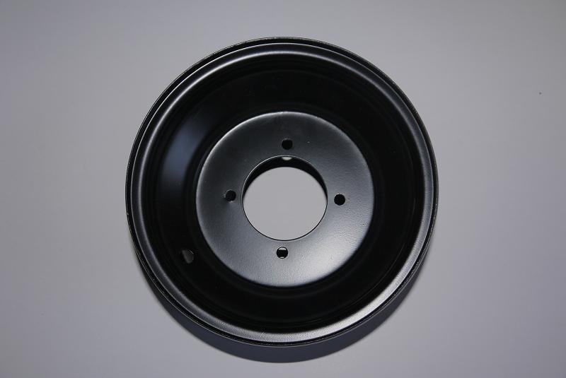 """8"""" Felge mit 4 Loch passend für  8 Zoll Reifen 18x9,5-8 – Bild 1"""