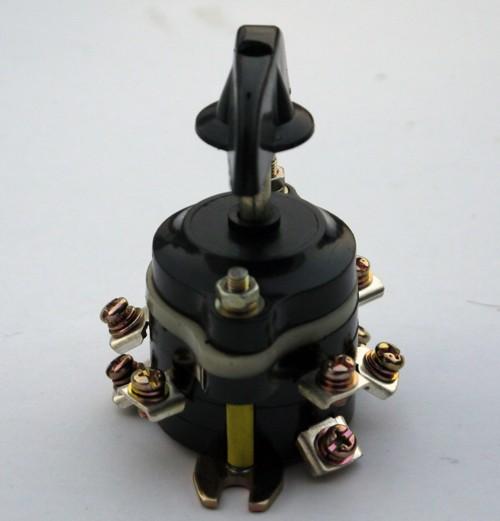 HZ10-10 Schalter, Wählschalter Vorwärtsgang / Rückwärtsgang / Neutral für elektrisches Kinderquad 36 V