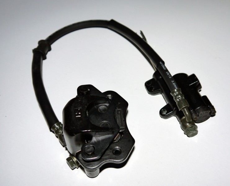 Bremse / Hydraulische Bremsanlage / Fußbremse 125ccm Kinderquad – Bild 2