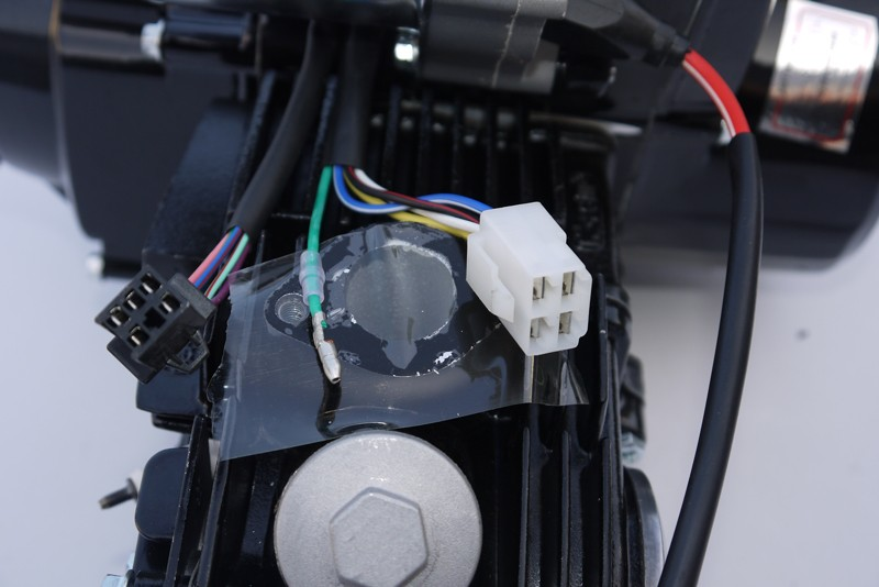Kinderquad Motor 125 ccm Quad Motor 3 Gang Schaltung + Rückwärtsgang – Bild 4