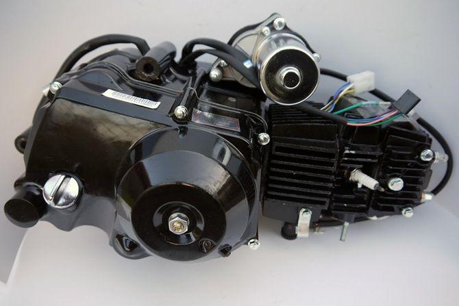 Kinderquad Motor 125 ccm Quad Motor 3 Gang Schaltung + Rückwärtsgang