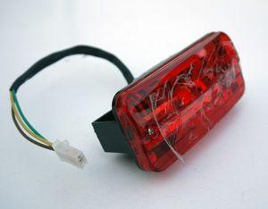 Rücklicht, Rückleuchte mit Bremslicht inkl. Birne für 12 oder 36 Volt (Aufpreis 2,50€)