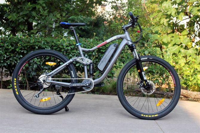 E-Bike Mountainbike - Pedelec Antrieb -  36V - 250 Watt - 9 Gang -