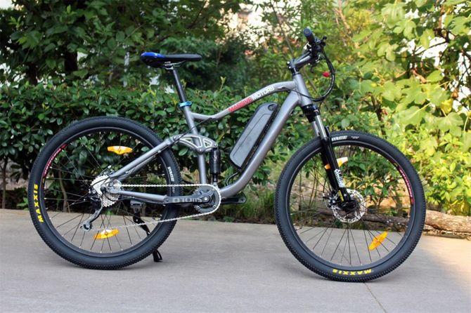 E-Bike Mountainbike - Pedelec Antrieb -  36V - 250 Watt - 9 Gang -