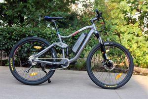 E-Bike Mountainbike - Pedelec Antrieb -  36V - 250 Watt - 9 Gang -  001