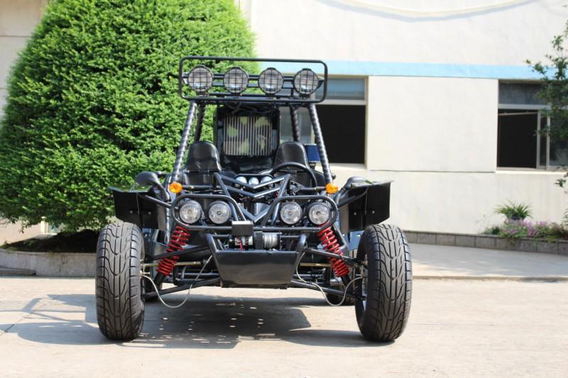 Kinroad Buggy GK 650cc mit Strassenzulassung + Differential - SCHWARZ – Bild 7