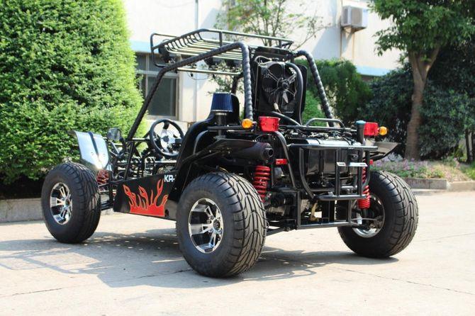 Kinroad Buggy GK 650cc mit Strassenzulassung + Differential - SCHWARZ