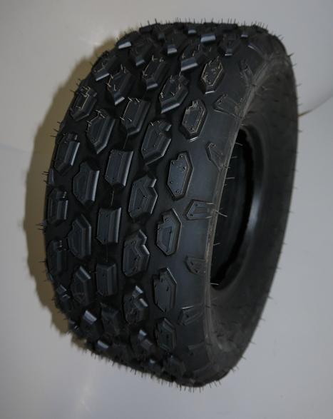 Rad 18x9.50-8  8 Zoll Offroad -  komplett inkl. Felge und Reifen montiert für HINTEN - 3 Loch Felge