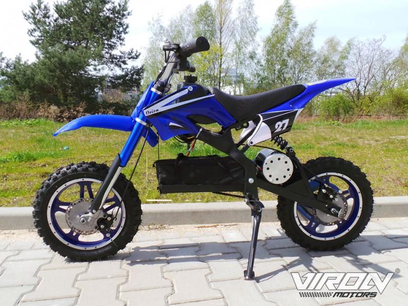 Elektrisches Kindermotorrad - Dirtbike Cross für Kinder 36V - 1000 Watt - drosselbar – Bild 7