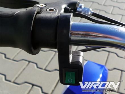 Elektrisches Kindermotorrad - Dirtbike Cross für Kinder 36V - 1000 Watt - drosselbar – Bild 10