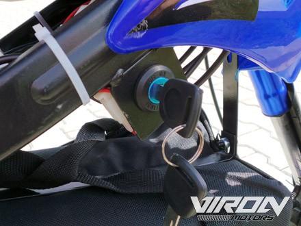Elektrisches Kindermotorrad - Dirtbike Cross für Kinder 36V - 1000 Watt - drosselbar – Bild 15
