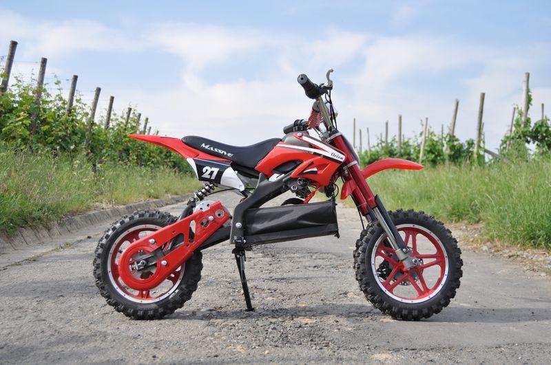 Elektrisches Kindermotorrad - Dirtbike Cross für Kinder 36V - 1000 Watt - drosselbar – Bild 3