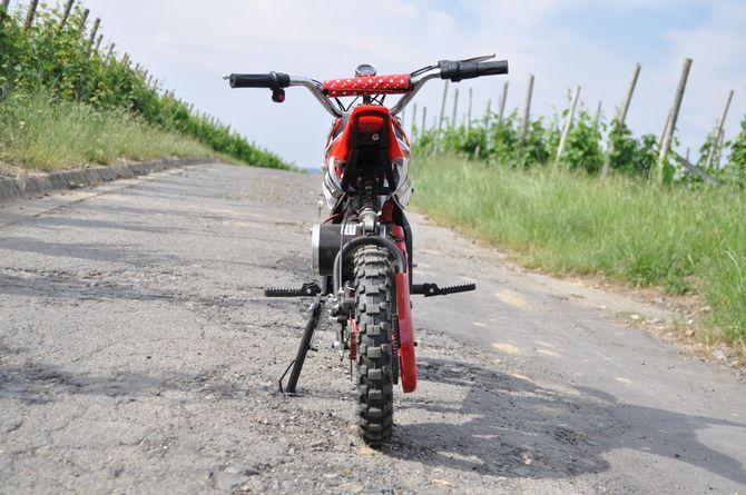 Elektrisches Kindermotorrad - Dirtbike Cross für Kinder 36V - 1000 Watt - drosselbar