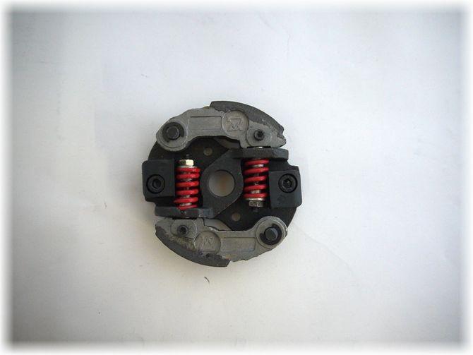 Fliehkraftkupplung mit 2 Belägen Tuning  für Pocketbike Dirtbike Kinderquad 49ccm - 2 Federn