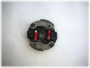 Fliehkraftkupplung mit 2 Belägen Tuning  für Pocketbike Dirtbike Kinderquad 49ccm - 2 Federn 001