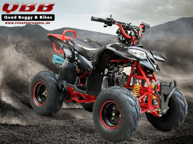 Sporty 1 RG Kinderquad 110cc oder 125ccm mit Rückwärtsgang - Jetzt mit Fußbremse