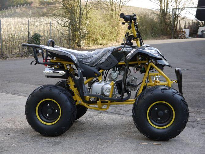 Sporty 1 RG Kinderquad 125ccm mit Rückwärtsgang - Fernbedienung - Drossel - Jetzt mit Fußbremse