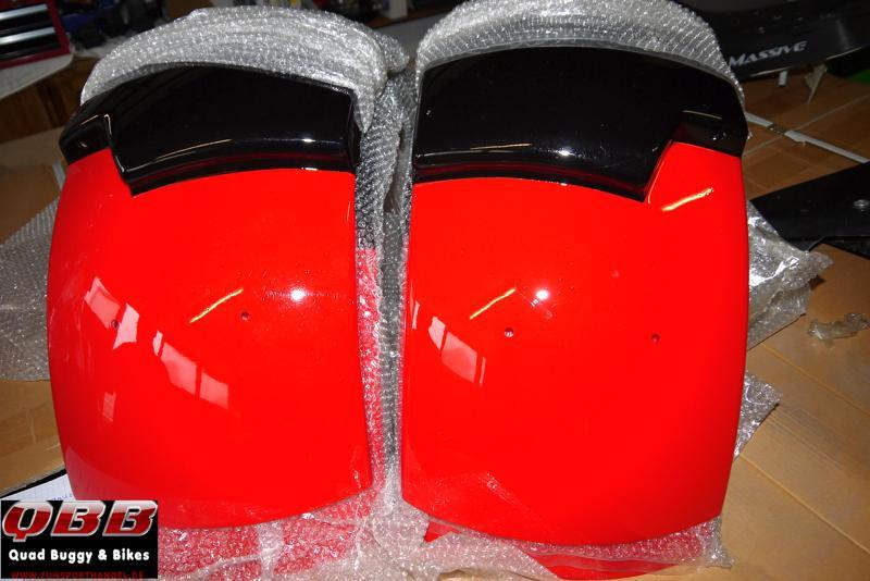 Kotflügel hinten außen rechts / links für NINJA Dark Edition  – Bild 3