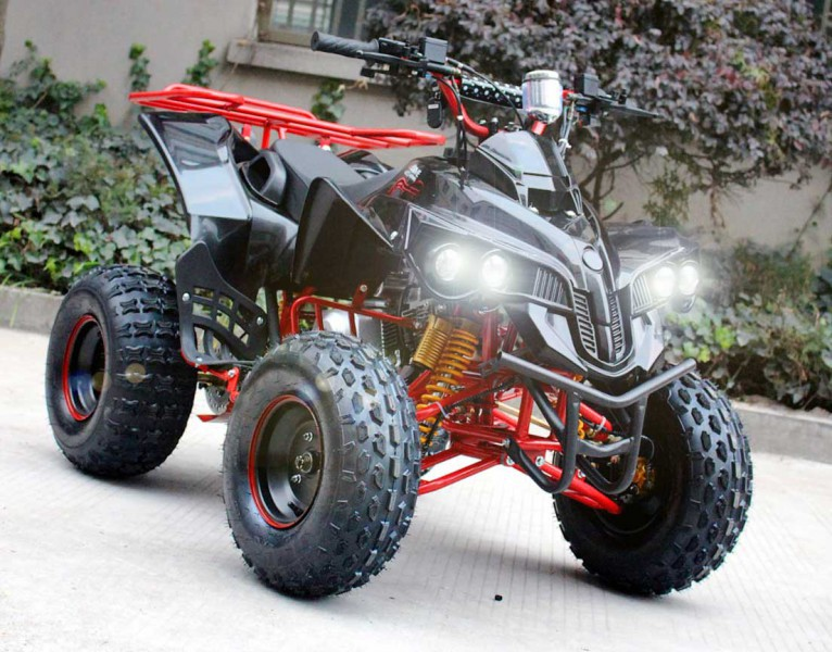 automatik quad f r kinder mit r ckw rtsgang 125ccm panther p limited quad atv kinder quads. Black Bedroom Furniture Sets. Home Design Ideas