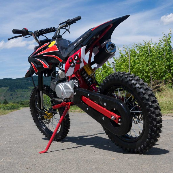 Dirtbike 125ccm Cross Bike mit 17/14 Bereifung - 4Takt - LIMITED