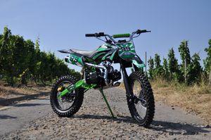 Dirtbike 125ccm Cross Bike mit 17/14 Bereifung - 4Takt - LIMITED 001