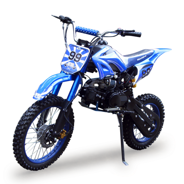 dirtbike 125ccm cross bike mit 17 14 bereifung 4takt. Black Bedroom Furniture Sets. Home Design Ideas