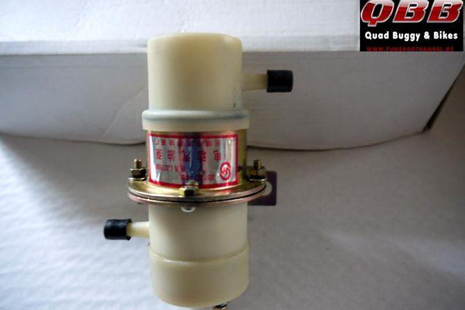 Zusatz-, Ersatz-, Benzinpumpe 12 Volt für z.B. Kinroad Buggy GK 650cc