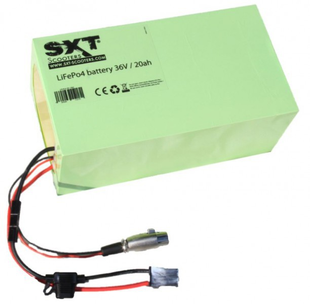 SXT 500 EEC E-Scooter mit Strassenzulassung in weiss – Bild 9