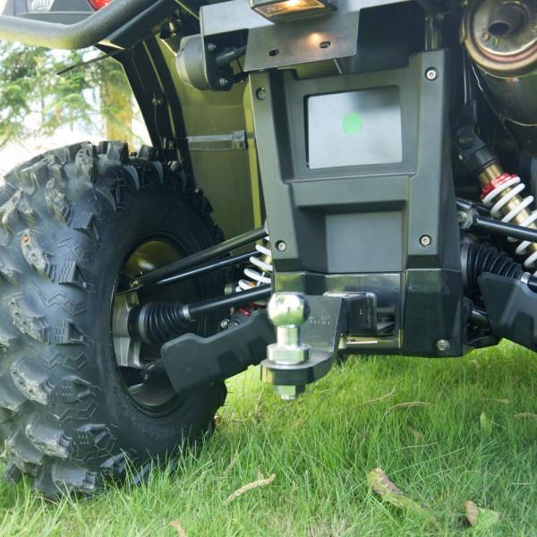 4 x 4 ATV Quad 550ccm HS 550 von Hisun +  Seilwinde + AHK + EFI- Vorführfahrzeug