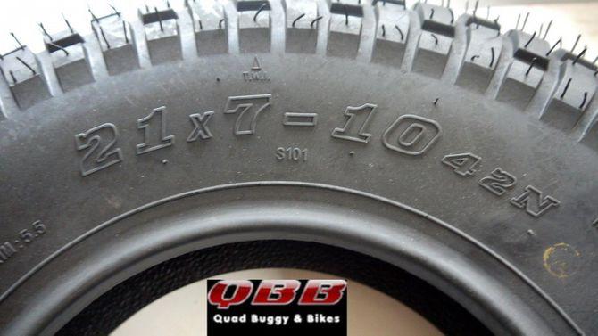 Reifen 21 x 7 -10 von Skyteam für ST50-11, ST125-11 T-Rex oder auch als Ersatz für RV50/90