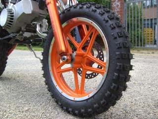 """49cc Dirtbike  im Orion Style  mit 10"""" großen Reifen – Bild 6"""
